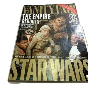 VANITY FAIR MAGAZINE STAR WARS, THE EMPIRE REBOOTS